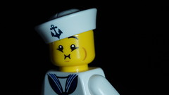 Lego Nauseous Sailor (Force Movies Productions) Tags: war wwii white lego toy toys youtube custom un guns ii minfig picture minifig minifigs military minifigure film officer soldier pose conflict movie photograpgh photo photograph photoshop animation army scene stopmotion sinojapanese second scenes soldiers frame japanese cool brickfilm brickmania brickizimo brick moc us united states allies sailor drunk drunken nauseous