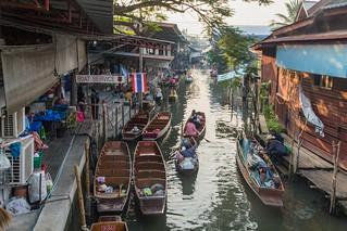 marche fottant damnoen saduak - thailande 7