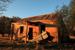 Still Standing (Darren Schiller) Tags: abandoned architecture australia building corrugatediron derelict disused decaying deserted dilapidated decay rural empty evening farming facade farmhouse galvanisediron history heritage house iron newsouthwales tomingley old rustic ruins w