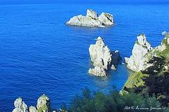 View Near Monestary Corfu (lhg_11, 2million views. Thank you!) Tags: travel travelphotography europe greece corfu cruise island ioniansea landscapephotography landscape view rockformations