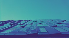 Immeuble de verre (freddylyon69) Tags: xperiaxz lyon immeuble verre ciel