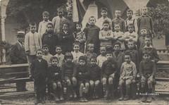 Ascoli com'era: Scuola Sant'Agostino, I Elementare (~1923) (Orarossa) Tags: ascolipiceno 0490624 italy italia marche scuola ielementare giuseppedipietro