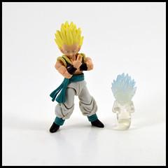 1 Year In A Toybox 3, 203_365 - Super Saiyan Gotenks (Corey's Toybox) Tags: dragonballz dbz anime shodo actionfigure figure toy supersaiyan gotenks fusion goten trunks kamikazeghost
