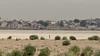 The Long Walk (Andrew G Robertson) Tags: varanasi desert india cityscape skyline utttar pradesh documentary ghat ganges river sand life