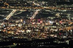 嘉義市|Chiayi City (里卡豆) Tags: 二延平山 隙頂 嘉義 chiayi 台灣 taiwan olympus penf 300mm f40 夜景 city 城市 嘉義市 olympus300mmf40pro