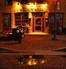 Aster Cafe, 5:00 a.m. (TwinCitiesSeen) Tags: minneapolis astercafe saintanthonymain minnesota twincities twincitiesseen canon6d tamron2875mm longexposure reflection
