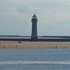 New Brighton Lighthouse (metrogogo) Tags: newbrightonlighthouse newbrighton waterfront breakwater rivermersey liverpool bay liverpoolbay perchrock seashore shoreline