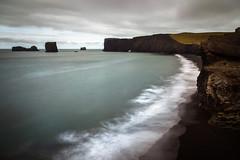 Dyrhólaey (Jack Landau) Tags: dyrhólaey arch iceland ocean sea waves surf landscape cliffs rocky stacks jack landau