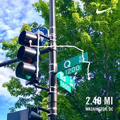 #activetransportation Q Is for Q Street ️‍🌈, ❤️DC @MoveItMonday #instaDC