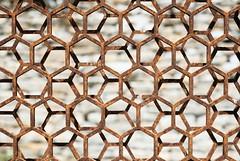 Hexagons (The Green Album) Tags: hexagon hexagonal pattern repetition offset alignment sculpture freshair 2017