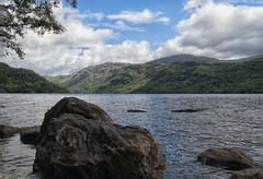 Loch Lomond. Scotland. (Adrian Walker.) Tags: elements scotland landscapes lochlomond water rock canon80d tamron18270 koodfilters