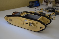 The Project Continues! (EliteTC) Tags: lego moc wip tank indianajones lastcrusade vehicle