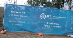 A safer future for the community (spelio) Tags: canberra act australia 2017 july house housing place homes architecture mrfluffy asbestos removal demolition clearing blocks