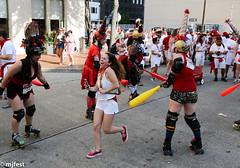 Running of the Bulls (MJfest) Tags: runofthebulls louisiana nolabulls 5dmarkiii sanfermin rollerderby canon bulls nola rollergirls neworleans unitedstates us fav10