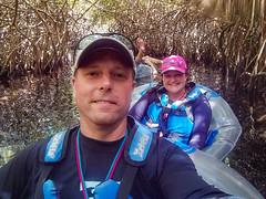 Through the Mangrove (Jerry Bowley) Tags: xelha mangrove allinclusive river rivieramaya me float lisa jerry ecopark