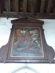 Royal Arms, Heydon (Aidan McRae Thomson) Tags: heydon church norfolk royalarms painting heraldic
