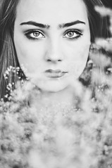 ... (riazajacova) Tags: bw beauty black magic monochrom mystery emotion melancholy poetic portrait people spirit dream fragile fantasy feeling girl beautiful