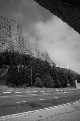 Foros (Alexander Oleynik) Tags: road cypress mountains clouds busstop crimea foros дорога форос горы