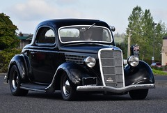 "1935 Ford 3-window coupe ""Street Rod"" (Custom_Cab) Tags: 1935 ford 3window 3 window coupe black car street hot rod custom"