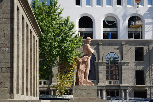 Statue in Yerevan