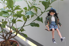 Swing Time!!! (Ninotpetrificat) Tags: ruruko japantoy asiandoll doll cute kawaii petworks puppe muñeca hobby ramoneras japandoll swing toys hipster