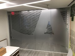 Privacy Cut Vinyl On Glass