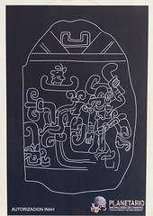 Mayan stele made clear! (Nanooki ʕ•́ᴥ•̀ʔっ) Tags: centralamerica chiapas location mexico northamerica tapachulaplanetarium tapachuladecórdovayordoñez mx maya astronomy cosmology