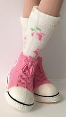 Little Shabby Chic Short Socks... For Blythe...