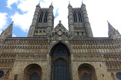 Lincoln Cathedral, west façade