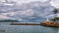Sunrise @ Iloilo City Port (tlchua99) Tags: sunrise iloilo city port storm christ
