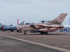 Royal Air Force Panavia Tornado GR4 ZG750 'Pinky'. (alex kerr photography) Tags: raf raffairford airtattoo fairford static tornado gr4 pinky marham rafmarham panaviatornadogr4