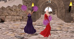 RFL 2017 - Formal hour! (Osiris LeShelle) Tags: secondlife second life avilion rfl sl relay for quest cure track pom poms dancing cheering formal gowns