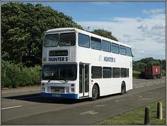 White Leyland surprise! (Jason 87030) Tags: leyland olympian northants northamptonshire hunetrs school g742tbd royaloakway shot surprise july 2017 bus