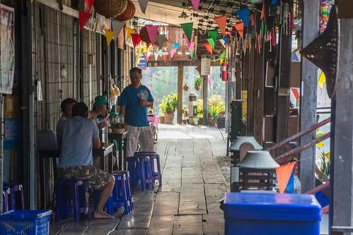 marche fottant damnoen saduak - thailande 21