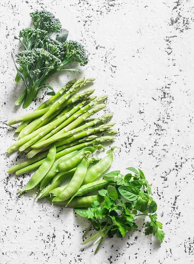 Roasted Broccoli & Mushrooms