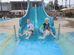 365 Project - July 18 (lupe1515) Tags: 365 project aj jackson friends slide swimming pool summer splash