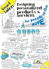 Designing personalised products and services for people on the move