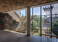 Landing (Dave Dixon LRPS) Tags: newcastleupontyne newcastle civiccentre architecture urban interior