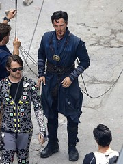 UHQ Avengers: Infinity War Set Pictures (anythingdoctorstrange) Tags: avengers infinity war atlanta usa 29 jun 2017 cast member benedict cumberbatch works during filming set is modeled after a new york city street celebrity entertainment arts united states north america georgia 60728929 benedictcumberbatch markruffalo avengersinfinitywar robert downey jr