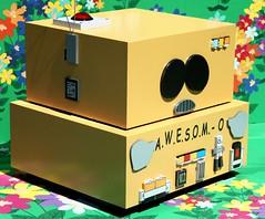 2016-A.W.E.S.O.M.O  Outside SDCC-02 (David Cummings62) Tags: sandiego ca calif california comiccon con david dave cummings southpark animated series tvseries cartoonnetwork sets outside 2016 awesomo carman robot