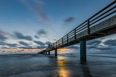 Seabridge,Koserow (karstenlützen) Tags: germany mecklenburgvorpommern usedom koserow balticsea seabridge seascape landscape longtimeexposure sunrise sigma1020f35 ilca77ii sonyflickraward