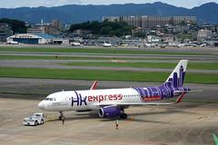 Hong Kong Express Airways B-LCF (Howard_Pulling) Tags: fukuoka airport fuk fukairport japan japanese howardpulling