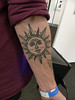 Sun Tattoo (Kombizz) Tags: 1190703 kombizz palexpo palestineexpo 080717 july2017 tattoo suntattoo inkwork jamie