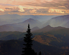 Looking to the Alpine Lakes Wilderness from the Nason Ridge, Cascade Range, Wa.. (mtnclimer) Tags: