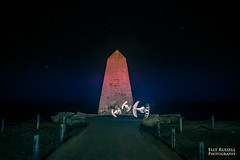 Tie Fighters at Portland Bill (ellyrussellphotography) Tags: weymouth portlandbill pixelstick paintingwithlight nightphotography lightpainting colour brightcolours nightshoot stars lighthouseatportlandbill lighthouse