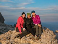Sisters ♀ (nevadoyerupaja) Tags: climbing summer grandteton guide guiding usa wyoming models girls sisters women pretty beautiful light evening sunset colorful mountain