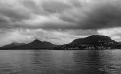 Shieldaig and Lough Torridon. (apcmitch) Tags: sealmorning coast mountains westcoastscotland iphonephotos nightscene sea sailing