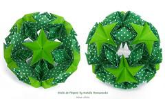 Etoile de l'Espoir by Natalia Romanenko (irina_chisa) Tags: origami kusudama