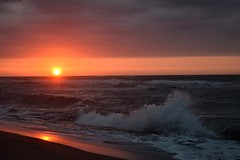 Sunrise..... (Tanja-Milfoil) Tags: saintpierrelamer europa europe milfoil tanja plage strand beach france frankreich sonnenaufgang sunrise