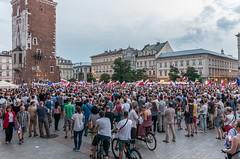 IMGP7310 (TomaszMazon) Tags: protest democracy krakow poland court antigovernment crowd